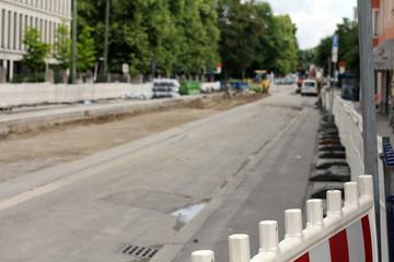 Baustelle - Strassenbau