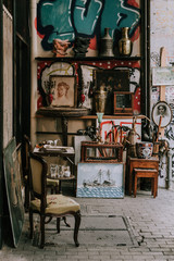 Antique Shop in Athens, Greece