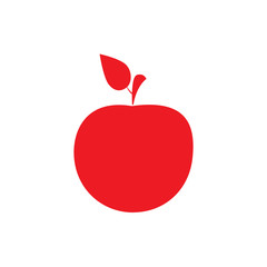 Apple icon. Vector Illustration