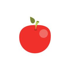 Apple icon. Vector Illustration