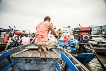 On Mekong in Vietnam 2018 Asia