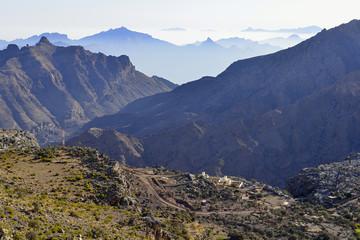 Oman, Al Hajar al Gharbi mountains