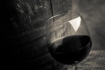 red wine tasting - cream tone style image