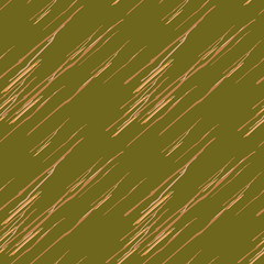 Abstract green, beige and orange background as UFO camouflage