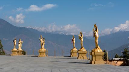 ブータン王国の観光地(ブッダポイント)