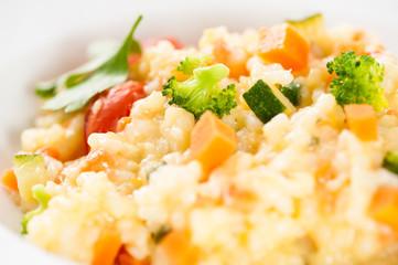 Risotto mit Gemüse