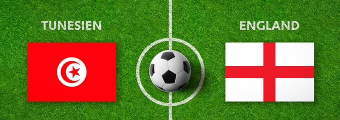Fußball - Tunesien gegen England