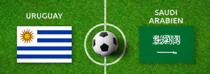 Fußball - Uruguay gegen Saudi Arabien