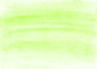 Beautiful uniform green watercolor background for any needs. Canvas for cover, template for layout, graphic design and web, banners.