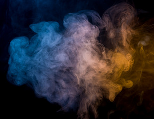Abstrac smoke on a dark background