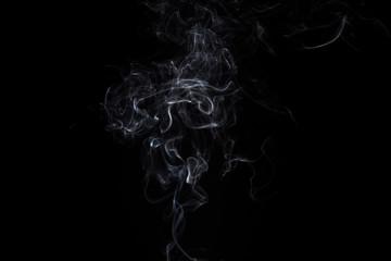Smoke of aroma stick