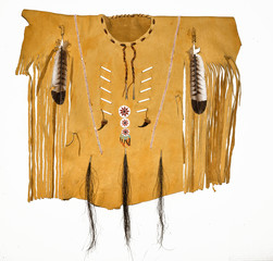 Leather Native American Shirt