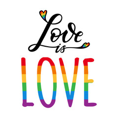 gay love rainbow