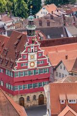 Das alte Rathaus in Esslingen am Neckar