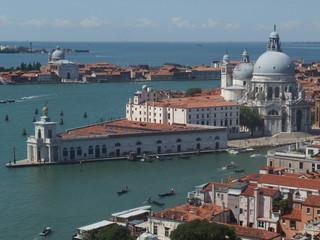 Włochy, Wenecja - widoki z kampanili (Dzwonnicy Św. Marka)