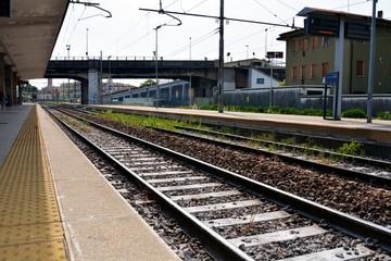 Treviso railway station in Veneto, Italy