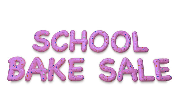 School Bake Sale and Fundraiser Charity