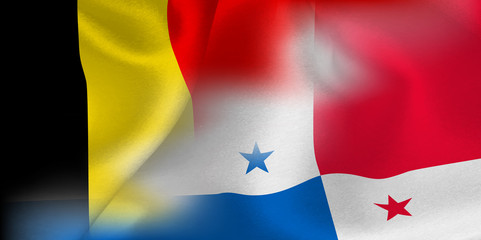 ベルギー パナマ  国旗 サッカー