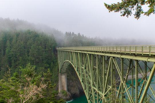 Whidbey Island, Wa, USA: Deception Pass Bridge