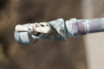 water spigot handle