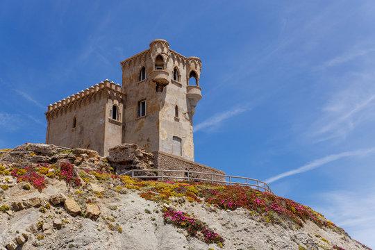 Fortress of Santa Catalina in the Spanish city of Tarifa