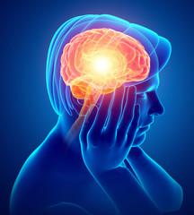 Male Feeling Headache