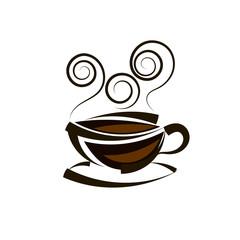 Logo coffee vector template
