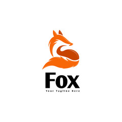 standby fox ready for looking logo