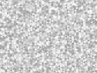 Abstract triangular background of geometric shapes. Light mosaic backdrop. Vector illustration.