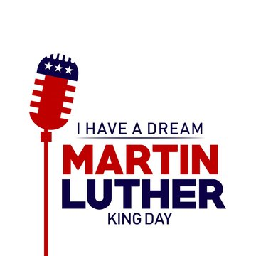 Martin Luther King Day Vector Template Design Illustration