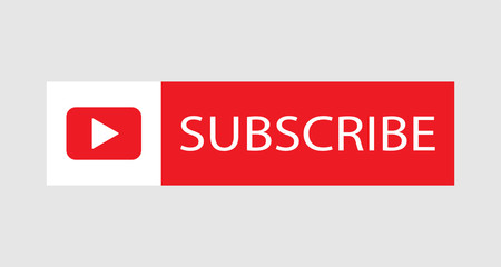 Subscribe red button