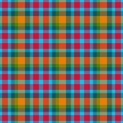 Trendy modern tartan checkered hipster seamless texture pattern