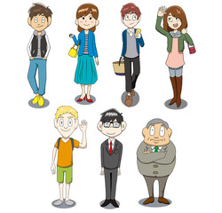 People Illustration Set