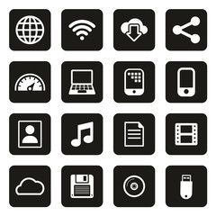 Download Icons White On Black
