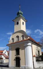 Chapel of Saint Dismas in Zagreb, Croatia