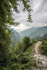 Romatische Hügellandschaft