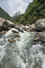 Landschaft Nepal Fluss