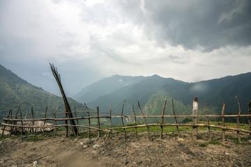 Landschaft Panorama Chandruk