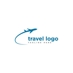 travel logo design template