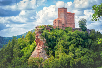 Reichsburg Trifels Annweiler, Burg in Rheinland Pfalz