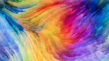 Digital Colorful Paint