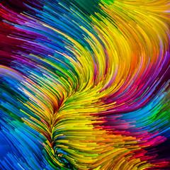 Colorful Paint Particles