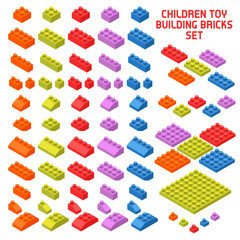 Toy Constructor Isometric Pieces
