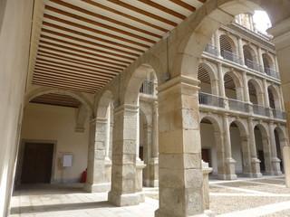 Alcala de Henares, ciudad de Cervantes en Madrid (España)