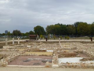 Ciudad romana de Complutum, origen de la actual Alcala de Henares (Madrid,España)