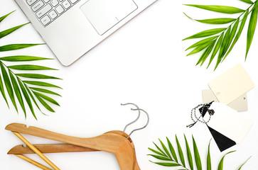 Fashion blogger's minimal concept