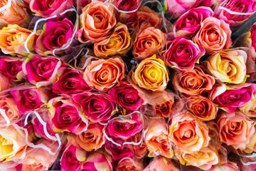 plastic rose flower