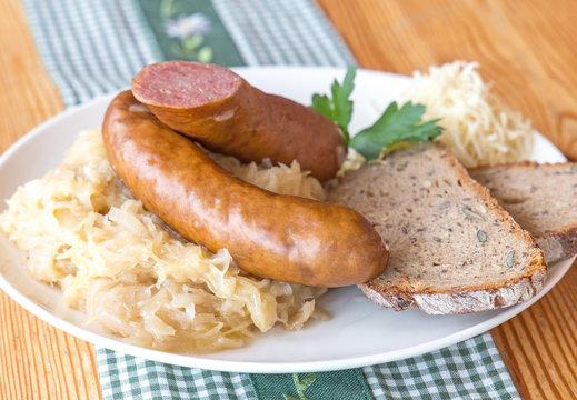 Selchwurst - Bauernkrainer - Wurst