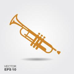 Simple icon Trumpet