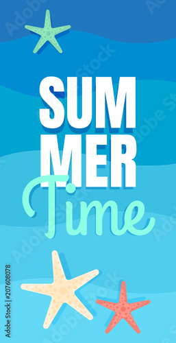 sea vacation summer background poster template ocean waves